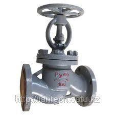 Вентиль (клапан) запорный стальной проходной фланцевый 15с22нж Ду15 Ру40