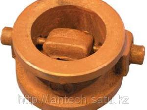 Клапан обратный поворотный межфланцевый 19ч21бр Ду125 Ру16