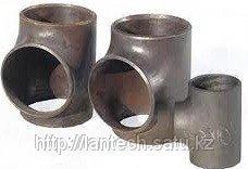 Тройник стальной неравнопроходной ГОСТ 17376-2001 Ду108х76