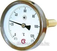 Термометр биметаллический d-100мм t°C=0-100; 0-150; 0-200