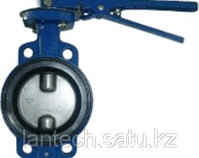 Затвор дисковый поворотный BF 32ч1р Ду100 Ру16 СЛМЗ (Россия)