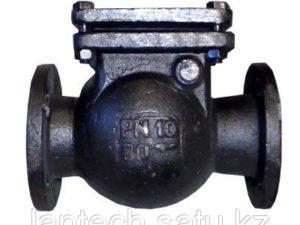 Клапан обратный поворотный фланцевый 16ч6р Ду80 Ру16