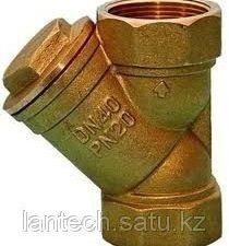 Фильтр сетчатый латунный муфтовый для воды Ду50 Ру20 ARCO (Испания)