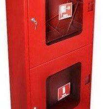 Шкаф пожарный -03-НОК/НОБ (открытого типа) двухсекционный