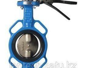 Затвор дисковый поворотный с никелированным диском BF Ду100 Ру16 EnKo
