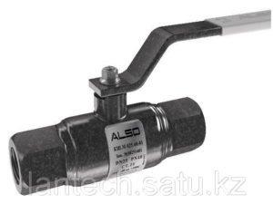 Кран шаровый стальной цельносварной муфтовый ALSO Ду32 Ру40 (Россия)