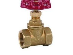 Вентиль (клапан) запорный проходной муфтовый бронзовый (4121) аналог 15б1П Ду20 Ру16 STA