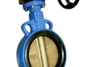 Затвор дисковый поворотный BF Ду400 Ру16