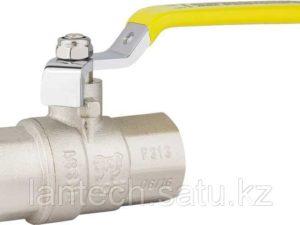 Кран шаровой латунный для газа тип «М-М» аналог 11Б27П Ду32 Ру16 серия 1050 STA