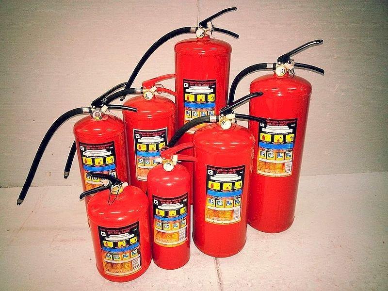 Порошковый огнетушитель, характеристики, применение